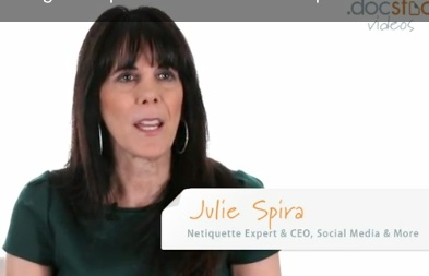 Julie Spira - Rules of Netiquette